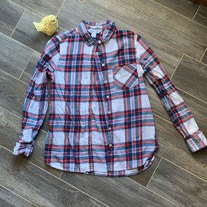 💫EUC💫 Beautiful Plaid Button Down Shirt